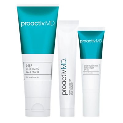 Proactivmd 3 Piece Acne Treatment System With Retinoid Adapalene