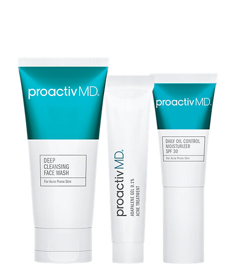 For All Skin Types Acne Skincare Treatment Proactiv